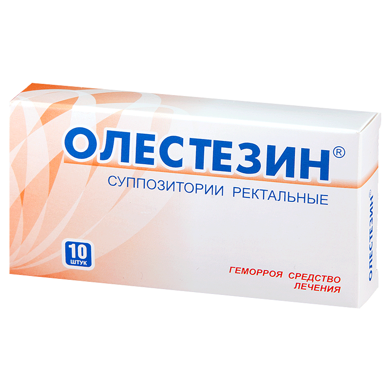 Олестезин: инструкция по применению ректальных суппозиториев
