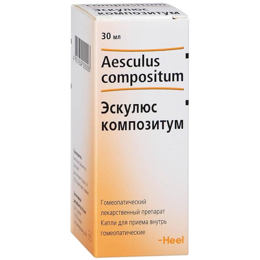 Эскулюс Композитум: инструкция по использованию гомеопатического средства