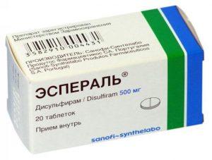Эспераль: инструкция по применению таблеток и геля