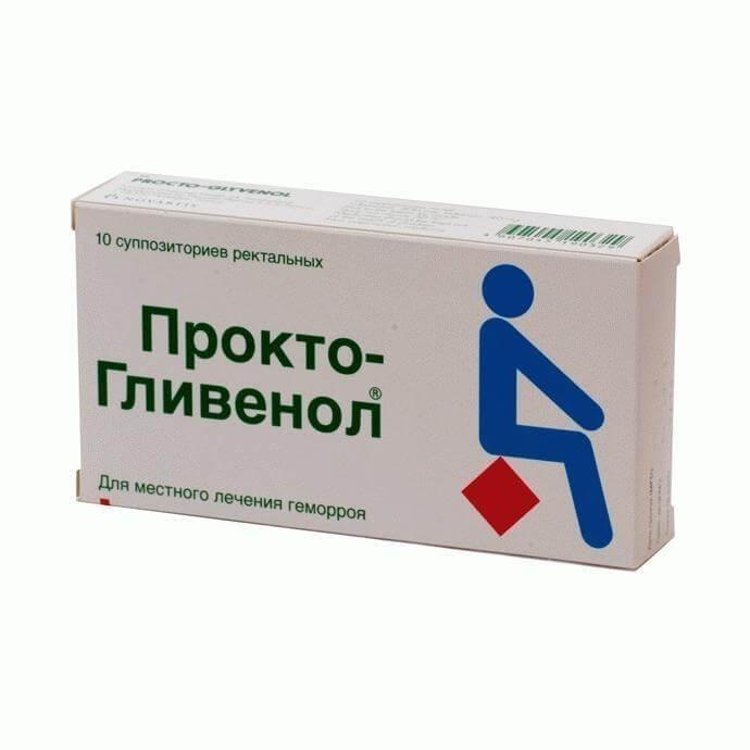Прокто-Гливенол: инструкция по применению крема и свечей