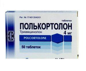 Полькортолон: инструкция по применению таблеток и крема