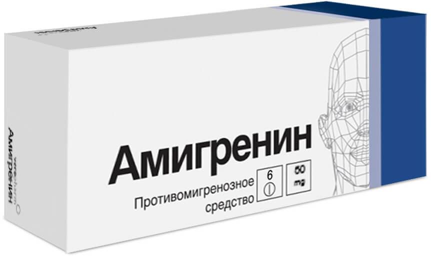 Амигренин: инструкция по использовании антимигренозного средства