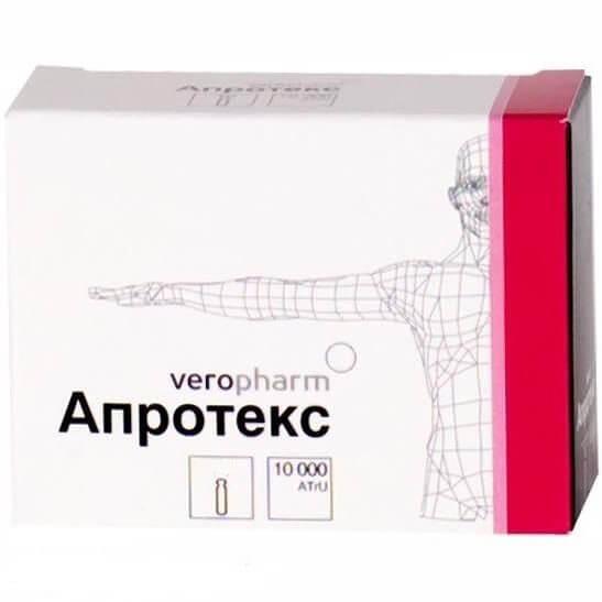 Апротекс: инструкция по применению лиофилизата и раствора