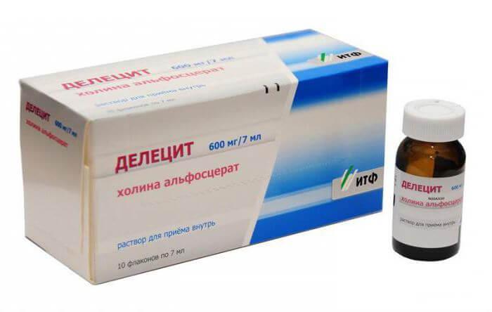 Делецит: инструкция по применению раствора и таблеток