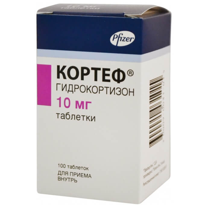 Кортеф: инструкция по применению таблеток