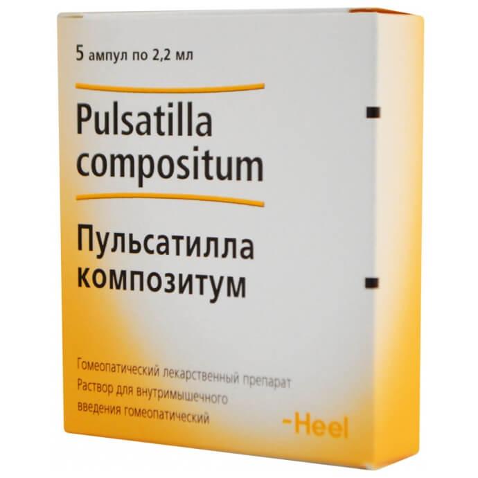 Пульсатилла: инструкция по применению раствора