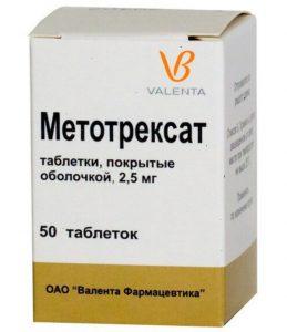 Метотрексат при артрите