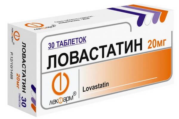 Ловастатин: инструкция по применению таблеток