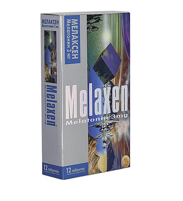 Мелаксен: инструкция по применению таблеток