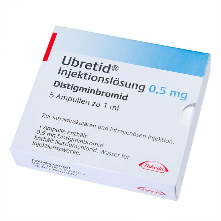 Убретид: инструкция по применению таблеток и ампул