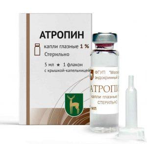 Атропин: что делать при отравлении