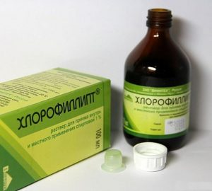 Рецепт Хлорофиллипта с Димексидом от косточки на ноге