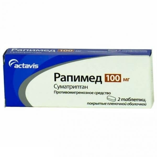 Рапимед: инструкция по применению таблеток