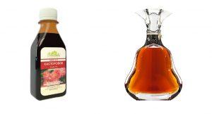 Касторовое масло с коньяком