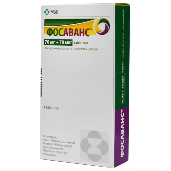 Фосаванс: инструкция по применению таблеток