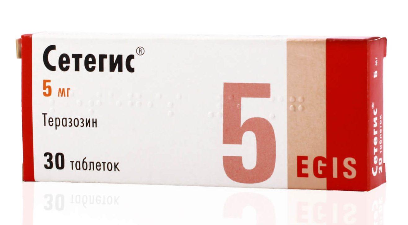 Сетегис: инструкция по применению таблеток