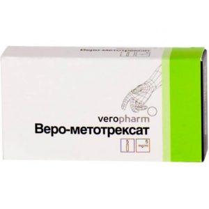 Веро-Метотрексат: инструкция по применению раствора