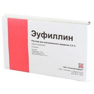 Эуфиллин для ингаляции