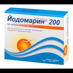 Йодомарин: аналоги препарата