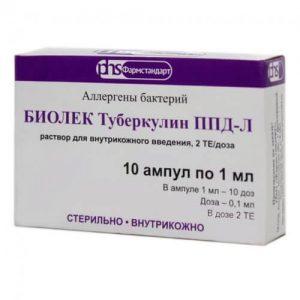 ппд туберкулин