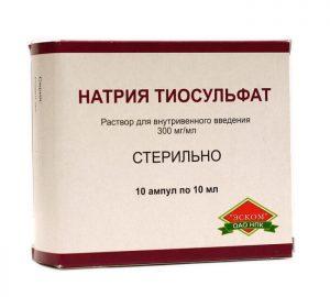 Тиосульфат натрия и алкоголь: совместимость