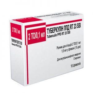 Туберкулин ППД: инструкция по применению раствора