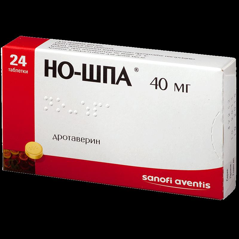 Но-шпа: инструкция по применению таблетки и раствор