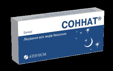Соннат: инструкция по применению таблеток