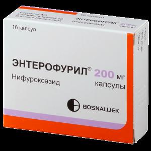 Применение Энтерофурила при ротавирусе