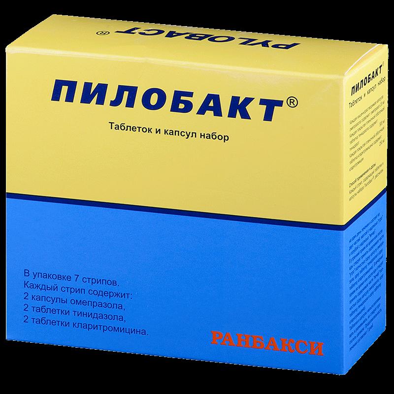 Пилобакт: инструкция по применению таблеток