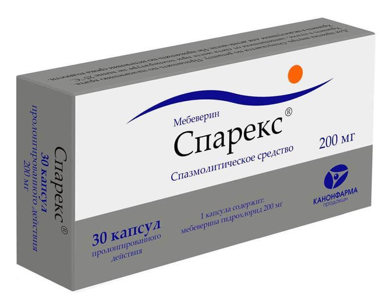 Спарекс: инструкция по применению капсул