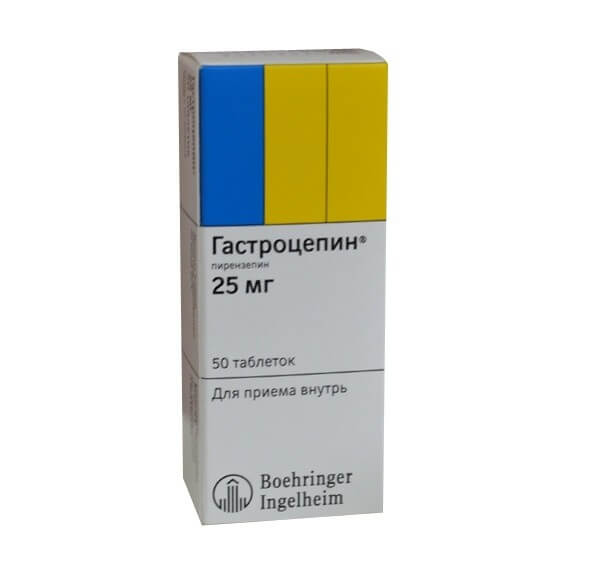 Гастроцепин: инструкция по применению таблеток и раствора