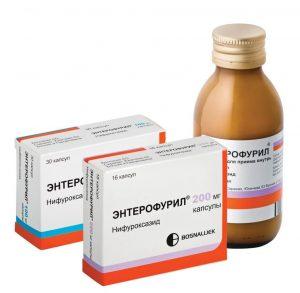 Применение Энтерофурила при грудном вскармливании