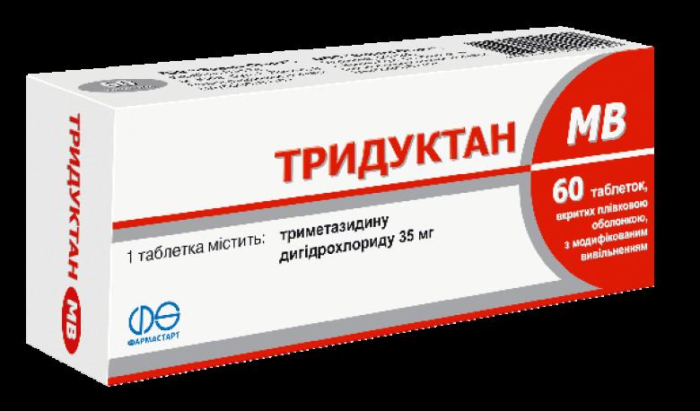 Тридуктан: инструкция по применению таблеток