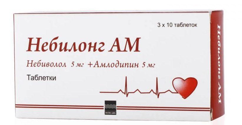 Небилонг АМ: инструкция по применению таблеток