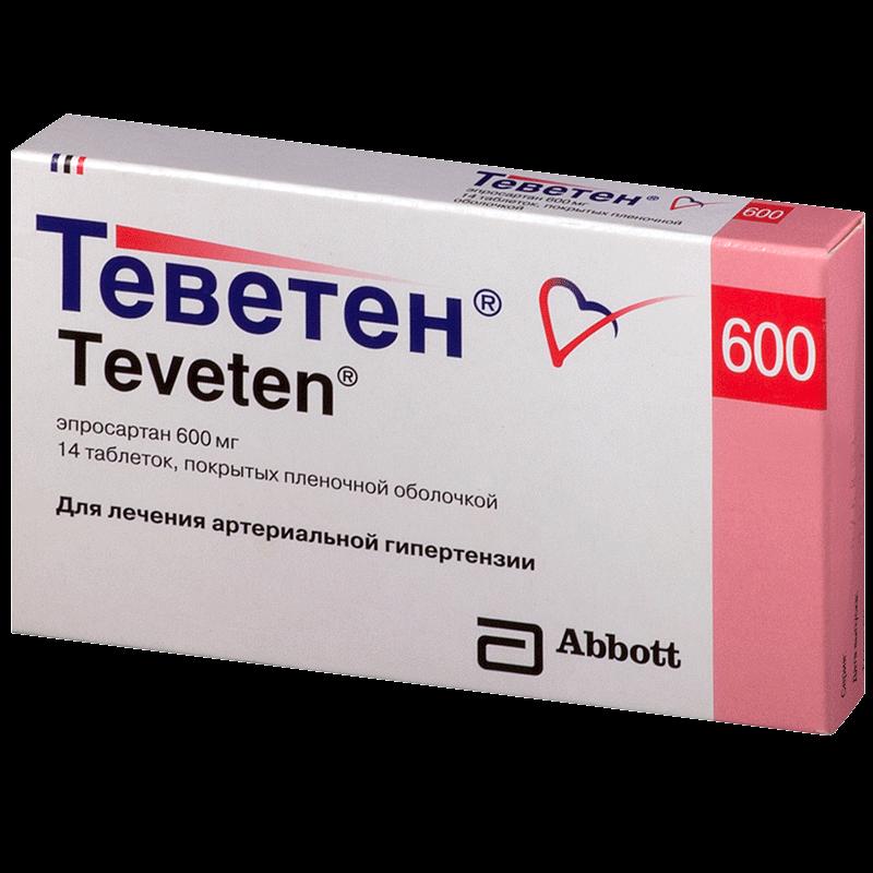 Теветен: инструкция по применению таблеток