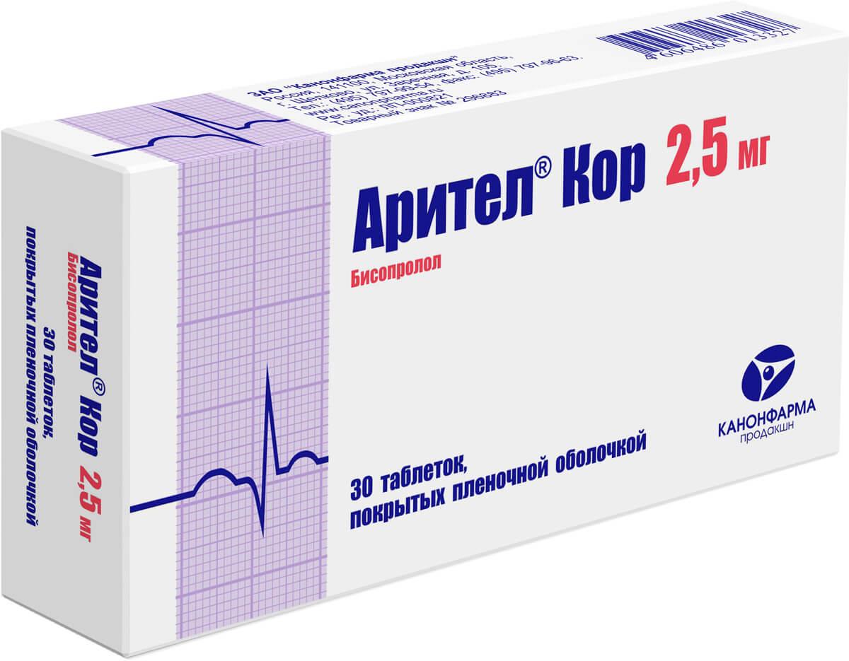 Арител кор: инструкция по применению таблеток