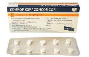 Особенности препарата Конкор Кор