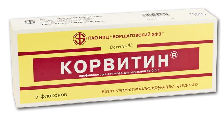 Корвитин: инструкция по применению флаконов