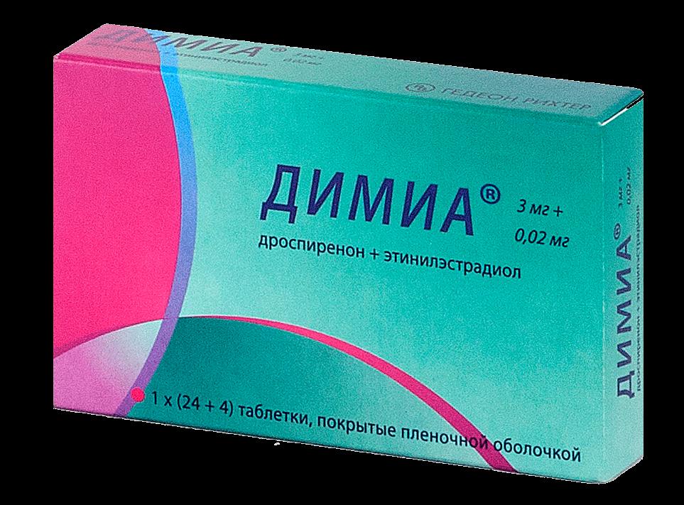 Димиа: инструкция по применению таблеток