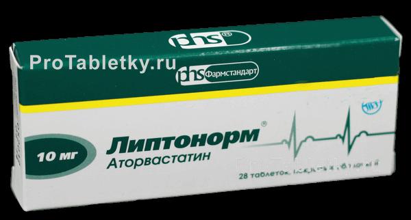 Липтонорм: инструкция по применению таблеток