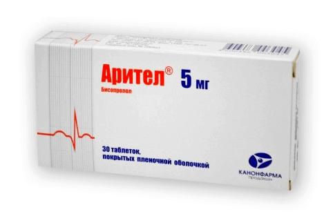 Арител: инструкция по применению таблеток