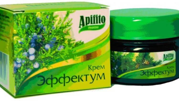 Эффектум: инструкция по применению крема