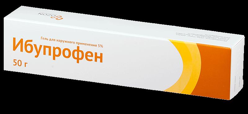 Ибупрофен: инструкция по применению мази