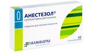 Особенности Анестезола
