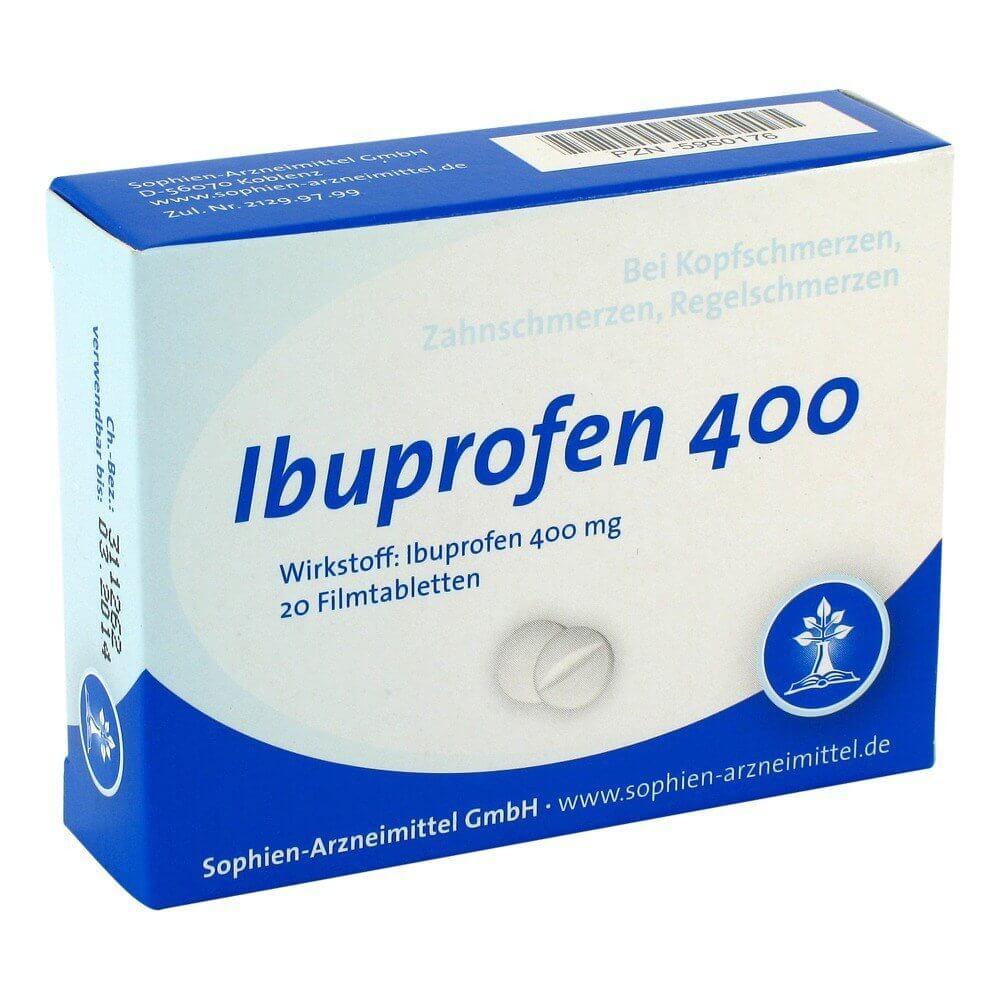 Ибупрофен 400: инструкция по применению таблеток