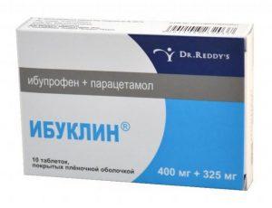 Ибуклин при головной боли