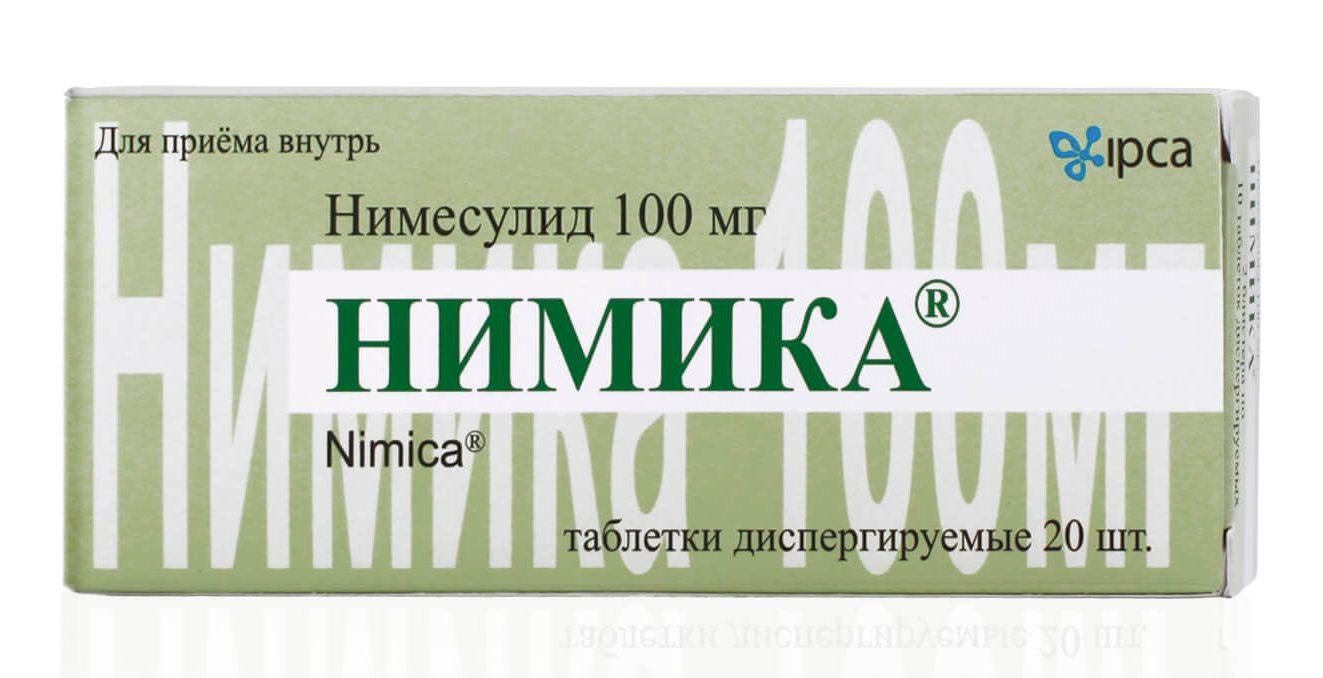 Нимика: инструкция по применению таблеток