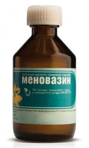 Меновазин от укусов комаров